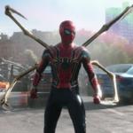 "Tom Holland as Spider-Man in ""Spider-Man: No Way Home"""