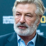 Close up of Alec Baldwin with a beard in October of 2021