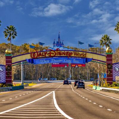 Entrance Arch of Walt Disney World