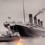 Replica of the Titanic.